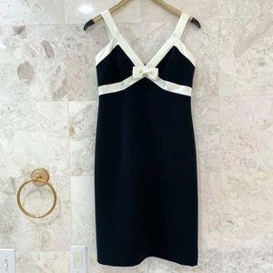 SHANI {8} Black and White Dress LBD Cocktail Dress